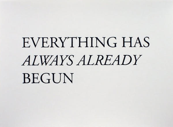 Cody Trepte: From Everything Has Always Already Begun