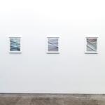John Houck: Aggregates (2011). Unique folded archival pigment prints.