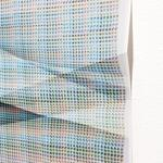 50,400 combinations of a 3x3 grid, 5 colors - BBC1BD, 6FACAD, AB98AC, 5A292F (detail)