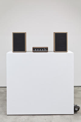 Stereo Jingle: From the series Music From Nowhere (1989 - ongoing). Installation view, 2008.