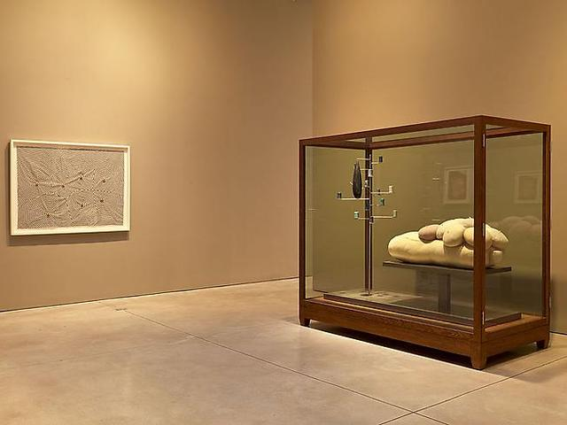 Louise Bourgeois: The Fabric Works, installation view (2011): Images courtesy Cheim & Read, New York.