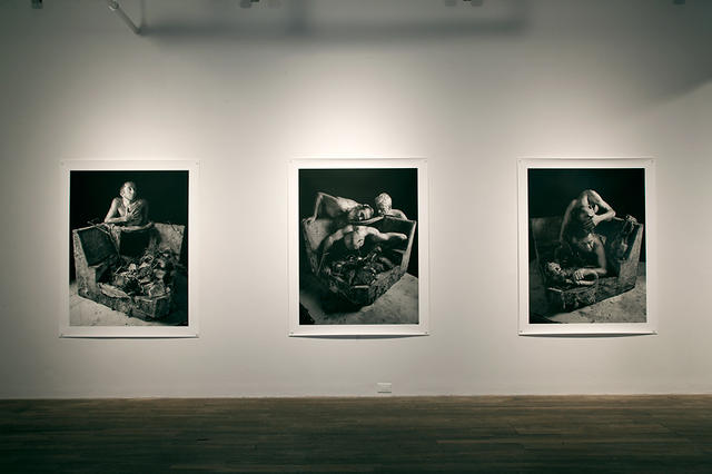 Matthieu Brouillard: The Resurrection/Children of Broken Symmetry, Installation view at Centre OBORO, Montreal: All images courtesy the artist.