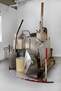 Georgia Dickie: Six Hundred and Eight Feet, installation view, 2012.