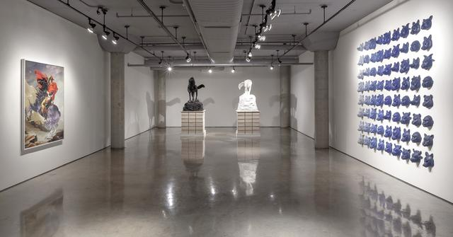 David K. Harper: Entre le chien et le loup (installation view at Doris McCarthy Gallery, University of Toronto, 2013). Images courtesy Doris McCarthy Gallery, Toronto