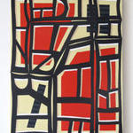 Vanessa Maltese: Stencil Painting No. 2 (2013).