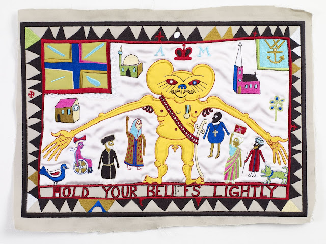 Grayson Perry: Hold Your Beliefs Lightly, 2011: Courtesy Victoria Miro Gallery, London. Images © Grayson Perry.