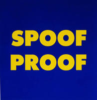 SPOOF PROOF, 2011: Serigraph on archival paper. Courtesy Paul + Wendy Projects, Toronto.
