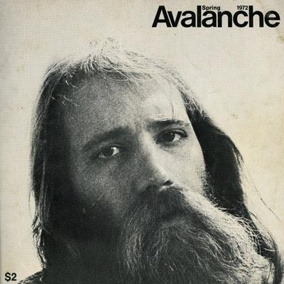 Spring 1972, no. 4 issue of Avalanche magazine: Picturing Lawrence Weiner.