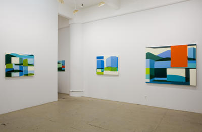 Louise Belcourt: Installation view: Courtesy the artist and Jeff  Bailey Gallery, New York.